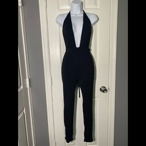 naked wardrobe Pants & Jumpsuits - Black Naked Wardrobe Jumpsuit